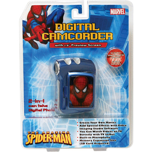 Sakar Amazing Spider-Man Digital Camcorder