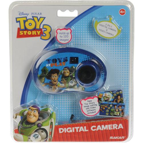Sakar Toy Story 3 Digital 2-in-1 Camera