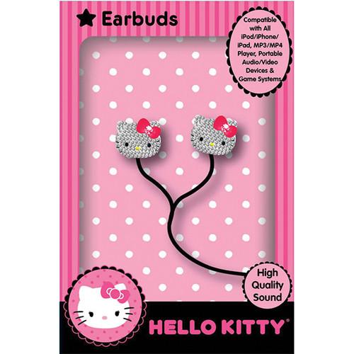 Sakar Hello Kitty Bling Earbuds