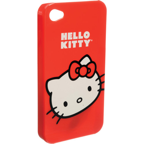 Sakar Hello Kitty iPhone 4 Hardshell Case (Red)