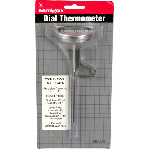 """Samigon Stainless Steel Dial Thermometer (1-3/4"""")"""