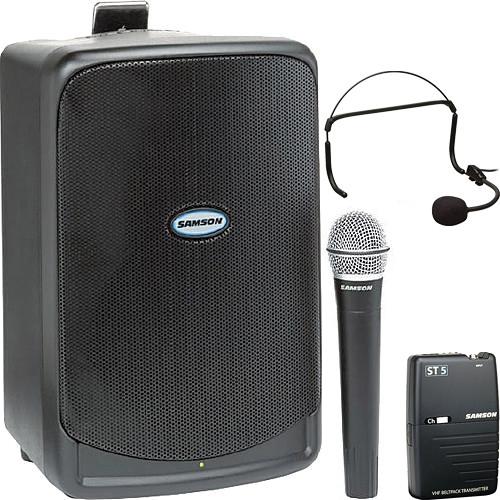 Samson Aerobic Earset Microphone PA System