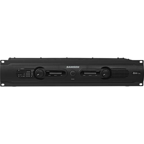 samson servo 200 power amplifier sa200 b h photo video. Black Bedroom Furniture Sets. Home Design Ideas