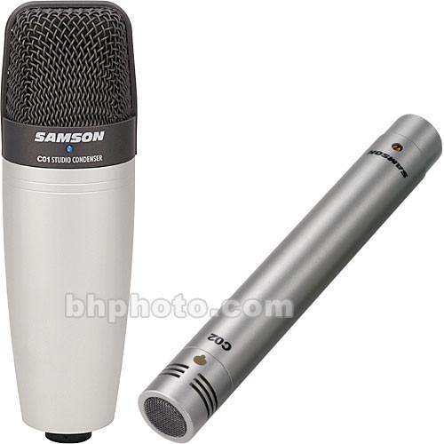 samson c01 c02 concert line microphone package sac01c02 b h. Black Bedroom Furniture Sets. Home Design Ideas