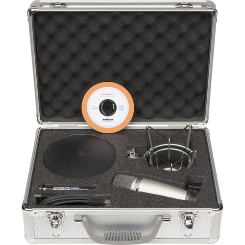 Samson C03U Recording and Podcasting Package