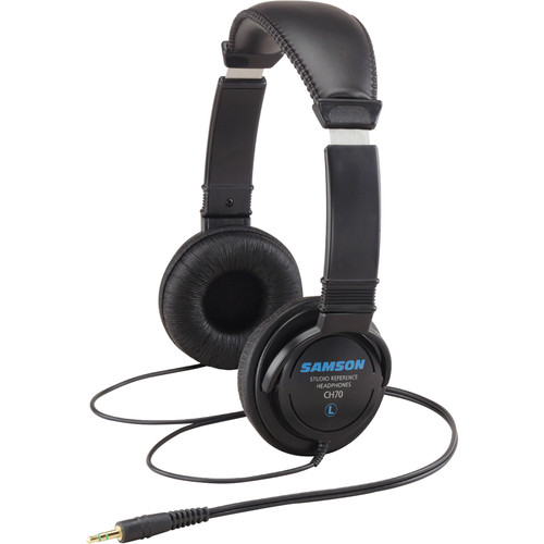 Samson CH70 - Lightweight Closed Back Studio Headphones
