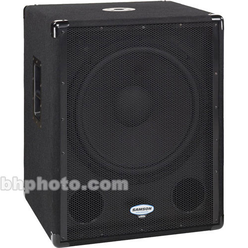 "Samson dB1800a 1000W 18"" Front-Firing Active Subwoofer"