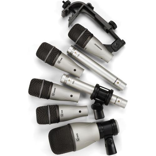 Samson 7 Kit - 7 Piece Drum Microphone Kit
