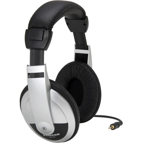 Samson HP10 Closed-Back Stereo Headphones