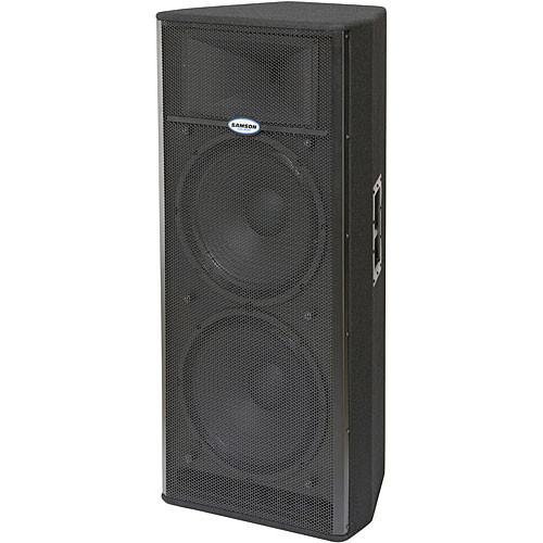 "Samson Live! 1215 - 500W 2 x 15"" Active Two-Way Loudspeaker"