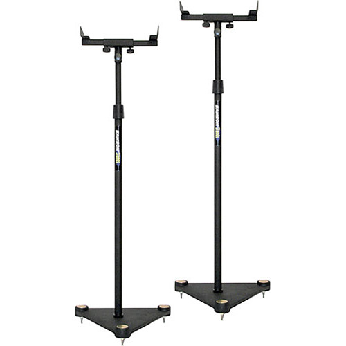 Samson MS100 - Adjustable Nearfield Monitor Speaker Stands - Pair