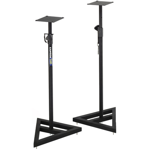 Samson MS200 - Adjustable Nearfield Monitor Speaker Stands (Pair)