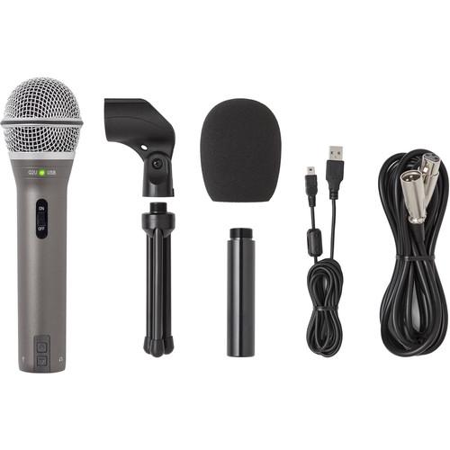 Samson Q2U Recording & Podcasting Pack (Gray)