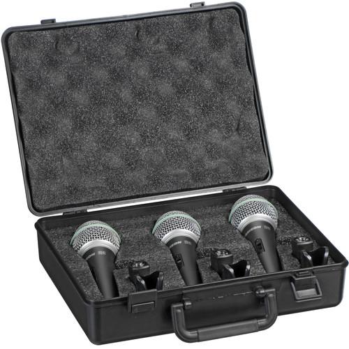 Samson Q6 - Dynamic Handheld Microphone (3-pack)