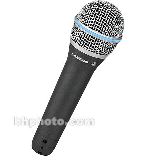 Samson Q8 - Cardioid Neodymium Dynamic Handheld Microphone