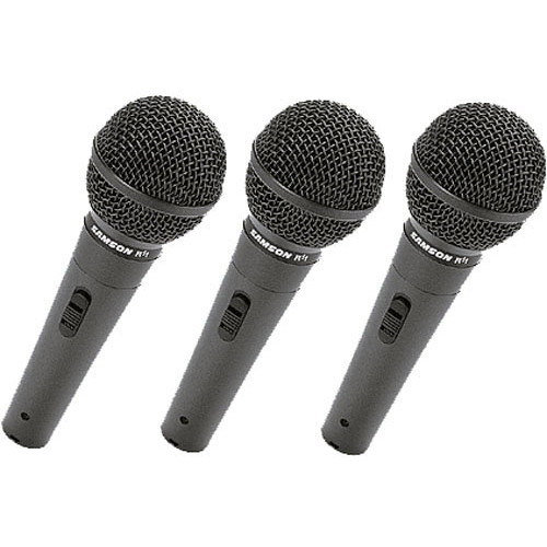 Samson R11 Dynamic Vocal Microphone (3 Pack)