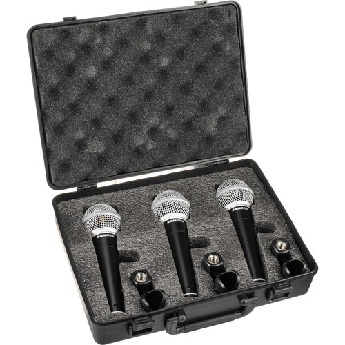 Samson R21 Dynamic Vocal/Presentation Mic (3-Pack)