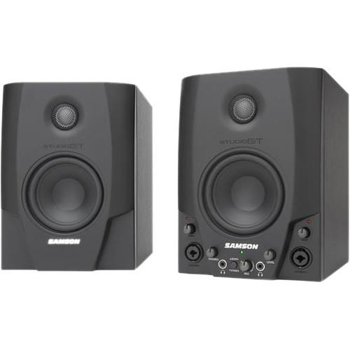 Samson Studio GT Active Nearfield USB Studio Monitors (Pair)