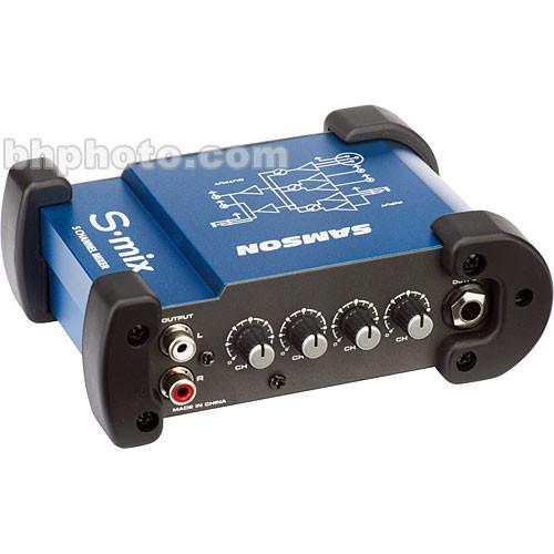 Samson S-Mix Miniature Audio Mixer