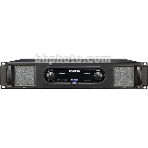 Samson SX1800 - 2-Channel Rack-Mount Power Amplifier
