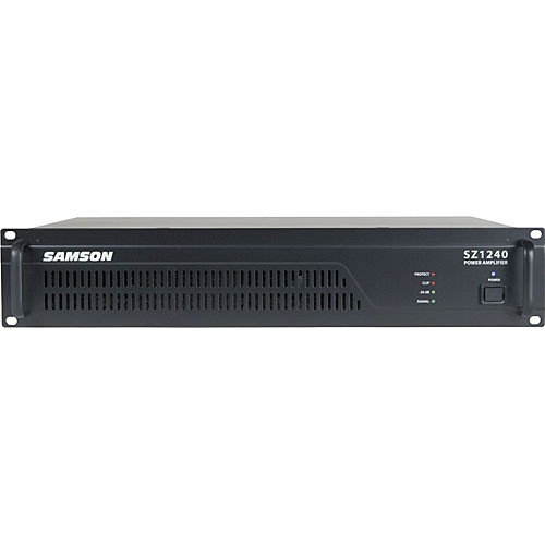 Samson SZ1240 240W Single-Channel Power Amplifier
