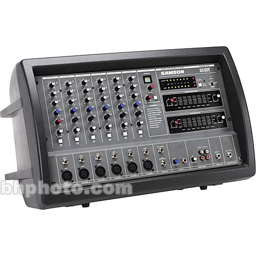 Samson XM610 Powered Stereo Mixer