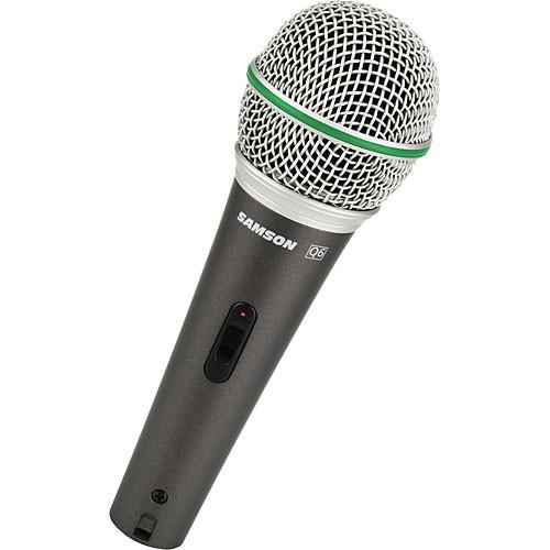 Samson Q6 Supercardioid Handheld Microphone