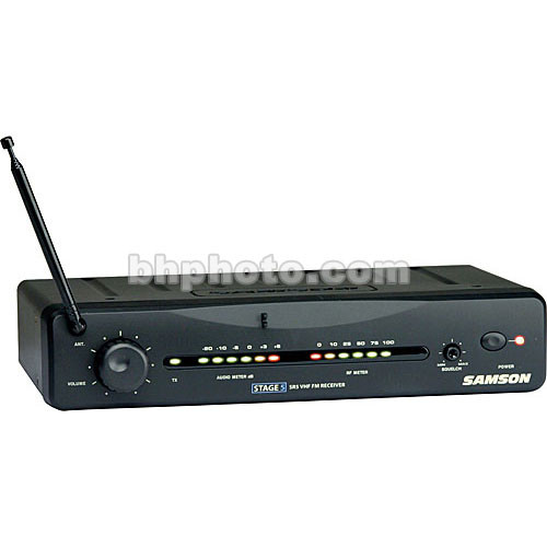 Samson SR5 Wireless VHF Receiver for Samson Stage 5 Wireless System (Channel 7 / 195.6MHz)