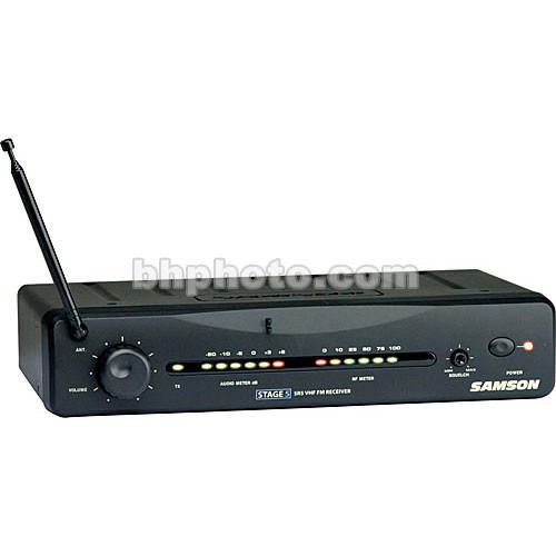 Samson SR5 Wireless VHF Receiver for Samson Stage 5 Wireless System (Channel 8 / 196.6MHz)