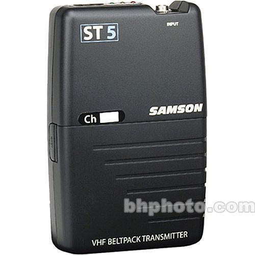 Samson ST5 Bodypack Transmitter for Samson Stage 55 Wireless Microphone System (Channel 18 / 174.5 MHz)