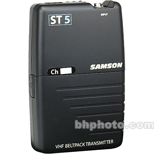 Samson ST5 Bodypack Transmitter (Channel 19 / 175.0 MHz)