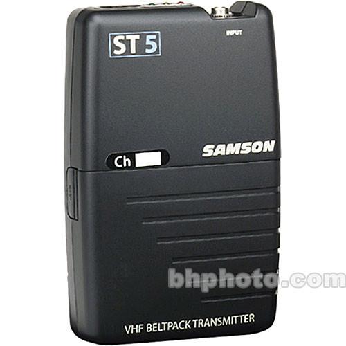 Samson ST5 Bodypack Transmitter (Channel 8 / 196.6 MHz)