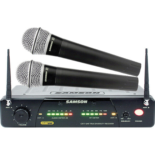 Samson Concert 277 - Dual Channel Handheld Wireless Microphone System