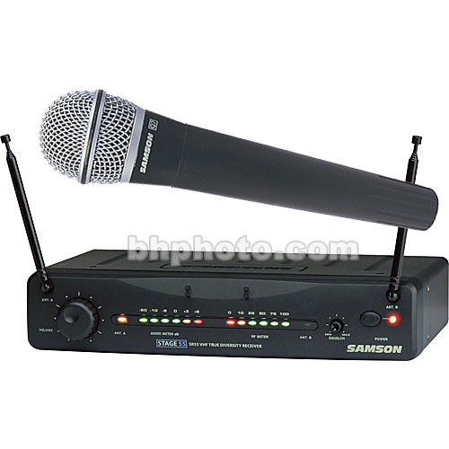Samson Stage 55 Handheld Wireless Microphone System