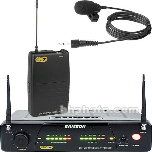 Samson Concert 77 - Wireless Lavalier System  (U2 / 801.875 MHz)