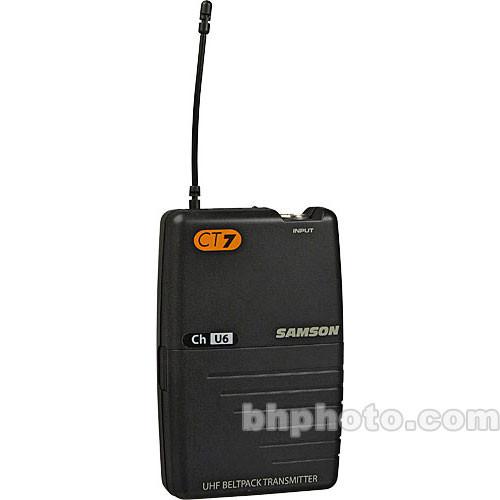 Samson CT7 UHF Belt-Pack Transmitter  (U2)