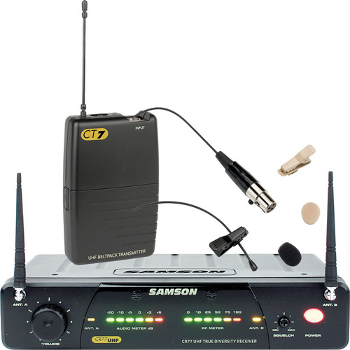 Samson Concert 77 Fitness Lavalier Wireless Microphone System (Frequency N1- 642.375 MHz)