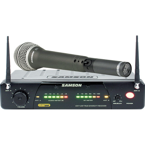 Samson AirLine 77 Handheld Wireless Microphone System (Frequency N6- 645.750 MHz)