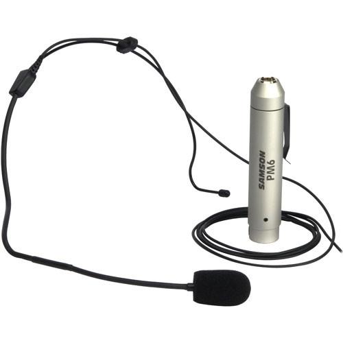 Samson QV10E Head-Worn Condenser Microphone