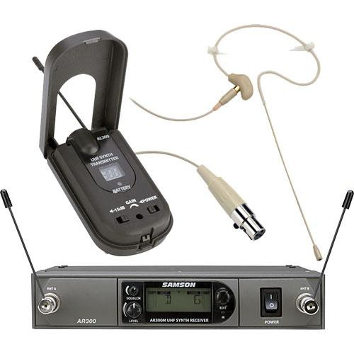 Samson AirLine Synth True-Diversity Wireless UHF Ear Set System