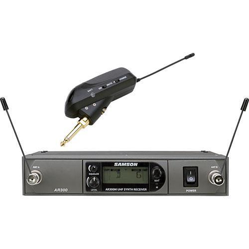 Samson AirLine Synth True-Diversity Wireless UHF Guitar System