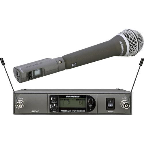 Samson AirLine Synth True-Diversity Wireless UHF Handheld Microphone System