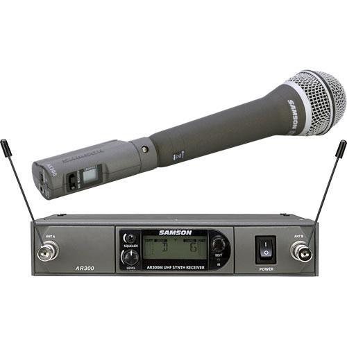 Samson AirLine Synth True-Diversity Wireless UHF Handheld Microphone System