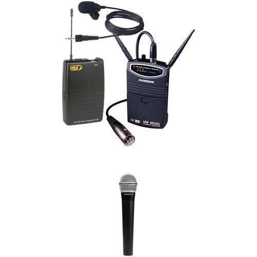 Samson UM1 Portable Handheld & Lavalier Kit