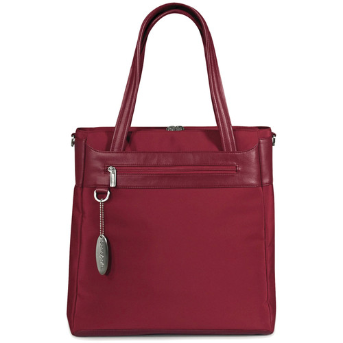 Samsonite Camelot Vertical Laptop Tote Case (Ruby Red)