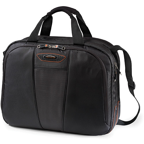"Samsonite Large Quantum Briefcase for 15.6"" Laptop Computers (Black)"