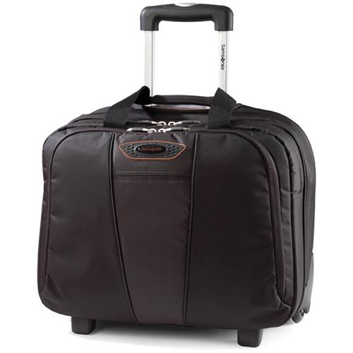 "Samsonite Quantum Toploader Wheeled Case for 15.6"" Laptop Computer Case (Black)"