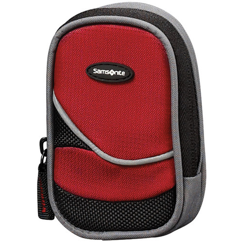 Samsonite Small Camera Bag (Red and Black)