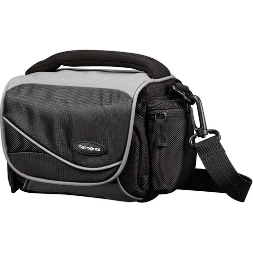 Samsonite Medium Horizontal Camera Bag (Black/Grey)