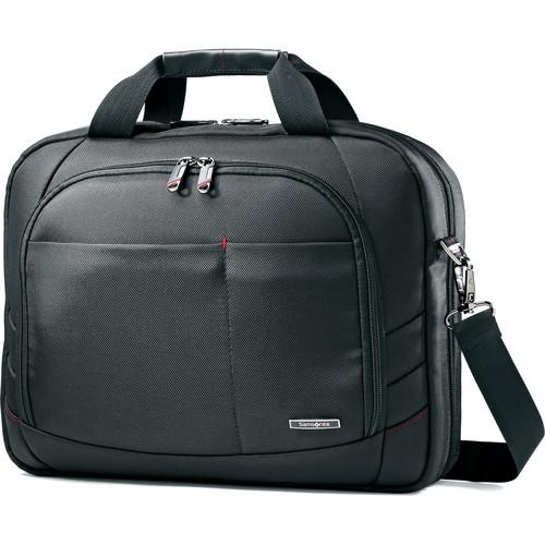 "Samsonite Xenon 2 Tech Locker Shoulder Bag with 14"" Laptop Pocket (Black)"